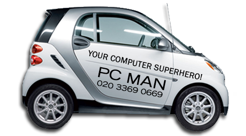 PC Man - Your London Computer Superhero & Wifi Specialist!