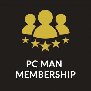 PC Man Membership